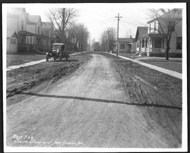 Street Improvement Photographs -- Box 28, Folder 52 (Sierra Street) -- print, 1928-03-07