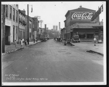 Street Improvement Photographs -- Box 29, Folder 02 (Stark Street) -- print, 1932-06-18