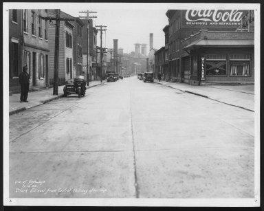 Street Improvement Photographs -- Box 29, Folder 02 (Stark Street) -- print, 1933-03-15