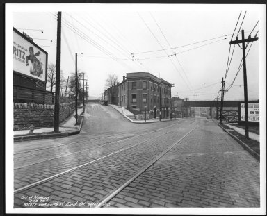 Street Improvement Photographs -- Box 29, Folder 04 (State Avenue) -- print, 1938-02-23