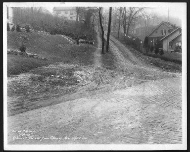 Street Improvement Photographs -- Box 29, Folder 07 (Sterret Avenue) -- print, 1932-01-29