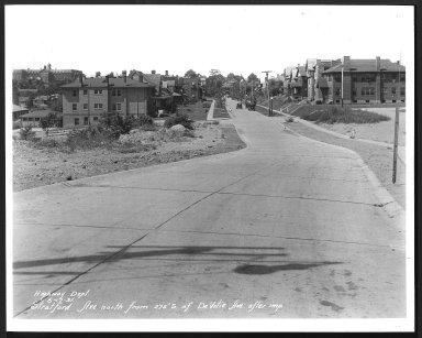 Street Improvement Photographs -- Box 29, Folder 08 (Stratford Avenue) -- print, 1931-06-17