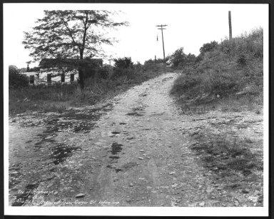 Street Improvement Photographs -- Box 29, Folder 12 (Sutter Avenue) -- print, 1932-08-26