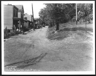 Street Improvement Photographs -- Box 29, Folder 12 (Sutter Avenue) -- print, 1932-08-26