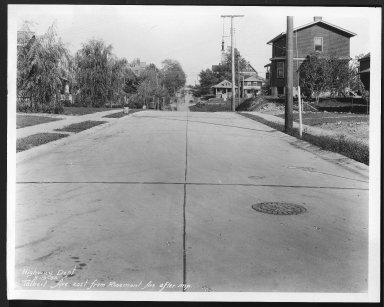 Street Improvement Photographs -- Box 29, Folder 20 (Talbert Avenue) -- print, 1930-09-19
