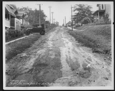 Street Improvement Photographs -- Box 29, Folder 23 (Tarpis Avenue) -- print, 1931-07-15