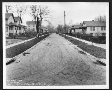 Street Improvement Photographs -- Box 29, Folder 24 (Tanner Avenue) -- print, 1931-01-25