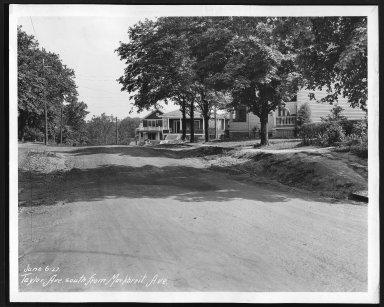 Street Improvement Photographs -- Box 29, Folder 25 (Taylor Avenue) -- print, 1927-06-06