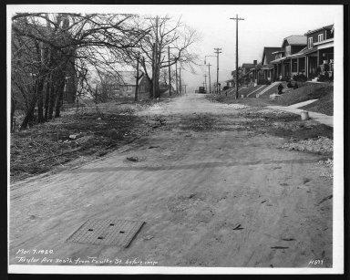 Street Improvement Photographs -- Box 29, Folder 25 (Taylor Avenue) -- print, 1920-03-07
