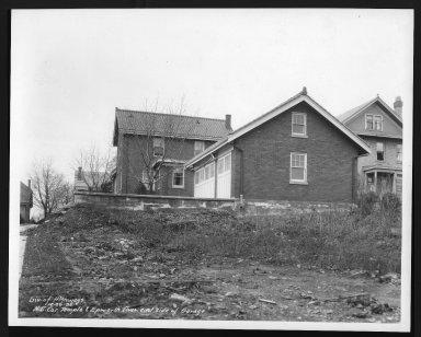 Street Improvement Photographs -- Box 29, Folder 26 (Temple Avenue) -- print, 1936-12-30