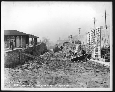 Street Improvement Photographs -- Box 29, Folder 31 (Third Street) -- print, 1936-12-01