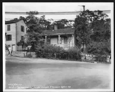 Street Improvement Photographs -- Box 29, Folder 35 (Torrence Road) -- print, 1937-09-01