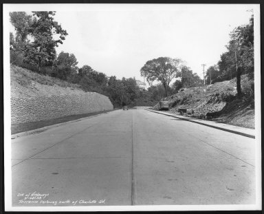Street Improvement Photographs -- Box 29, Folder 37 (Torrence Road) -- print, 1938-09-24