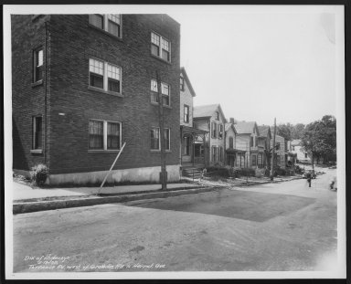 Street Improvement Photographs -- Box 29, Folder 37 (Torrence Road) -- print, 1938-05-13