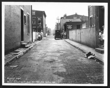 Street Improvement Photographs -- Box 29, Folder 39 (Turner Street) -- print, 1930-08-22