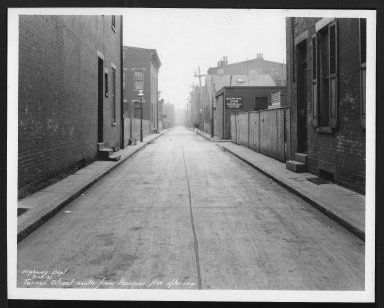 Street Improvement Photographs -- Box 29, Folder 39 (Turner Street) -- print, 1931-03-13