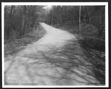 Street Improvement Photographs -- Box 29, Folder 41 (Tusculum Avenue) -- print, 1928-03-22