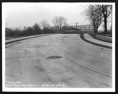Street Improvement Photographs -- Box 29, Folder 44 (Twenty-Eighth Avenue) -- print, 1931-02-07
