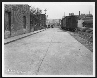 Street Improvement Photographs -- Box 29, Folder 48 (Vandalia Avenue) -- print, 1928-04-06