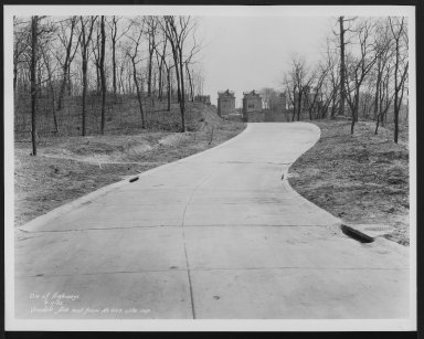 Street Improvement Photographs -- Box 29, Folder 57 (Vinedale Avenue) -- print, 1932-04-11