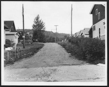 Street Improvement Photographs -- Box 29, Folder 58 (Vinewood Avenue) -- print, 1932-08-03