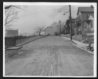 Street Improvement Photographs -- Box 29, Folder 65 (Walworth Avenue) -- print, 1918-02-18