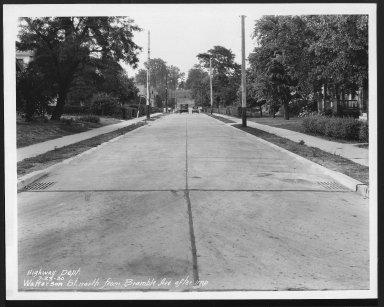 Street Improvement Photographs -- Box 30, Folder 01 (Watterson Avenue) -- print, 1930-07-23