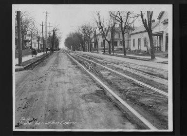 Street Improvement Photographs -- Box 30, Folder 11 (Whetsel Avenue) -- print, 1927-02-28