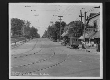 Street Improvement Photographs -- Box 30, Folder 11 (Whetsel Avenue) -- print, 1927-09-19