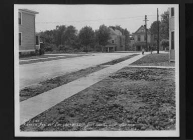 Street Improvement Photographs -- Box 30, Folder 14 (Wieman Road) -- print, 1927-07-07