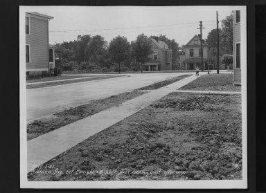 Street Improvement Photographs -- Box 30, Folder 14 (Wieman Road) -- print, 1927-07-07