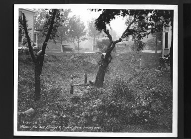 Street Improvement Photographs -- Box 30, Folder 14 (Wieman Road) -- print, 1926-09-30