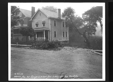 Street Improvement Photographs -- Box 30, Folder 15 (Wieman Road) -- print, 1926-09-30