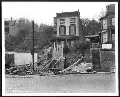 Street Improvement Photographs -- Box 30, Folder 18 (Wilder Avenue) -- print, 1938-10-27