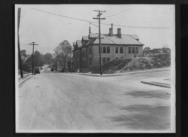 Street Improvement Photographs -- Box 30, Folder 20 (Windsor Street) -- print, 1921-10-21