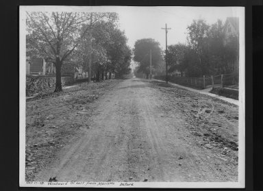 Street Improvement Photographs -- Box 30, Folder 21 (Windward Street) -- print, 1928-10-11