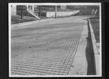 Street Improvement Photographs -- Box 30, Folder 26 (Woodbridge Place) -- print, 1917-08-08
