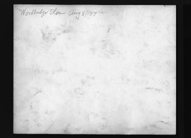 Street Improvement Photographs -- Box 30, Folder 26 (Woodbridge Place) -- print, 1917-08-08 (back of photograph)