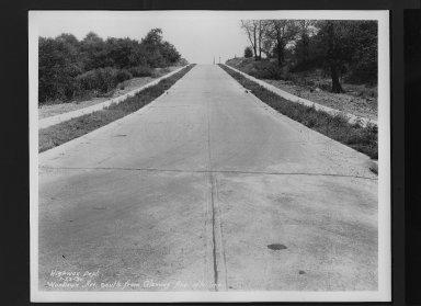 Street Improvement Photographs -- Box 30, Folder 31 (Woodlawn Avenue) -- print, 1930-07-23