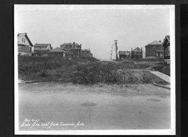 Street Improvement Photographs -- Box 30, Folder 43 (Zula Avenue) -- print, 1927-03-09