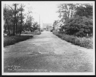 Street Improvement Photographs -- Box 30, Folder 43 (Zula Avenue) -- print, 1931-09-03