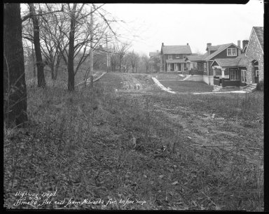 Street Improvement Photographs -- Box 31, Folder 03 (Amelia Avenue) -- negative, 1930-12-08