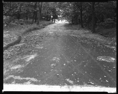 Street Improvement Photographs -- Box 31, Folder 06 (Arnold Avenue) -- negative, 1932-08-25