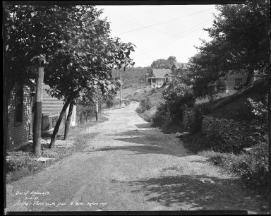 Street Improvement Photographs -- Box 31, Folder 08 (Arthur Place) -- negative, 1932-07-15