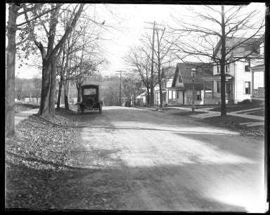 Street Improvement Photographs -- Box 31, Folder 10 (Aster Place College Hill) -- negative, 1927