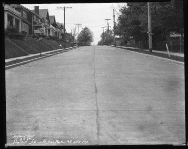 Street Improvement Photographs -- Box 31, Folder 15 (Ballard Avenue) -- negative, 1930-05-05