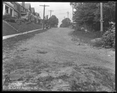 Street Improvement Photographs -- Box 31, Folder 15 (Ballard Avenue) -- negative, 1929-08-23