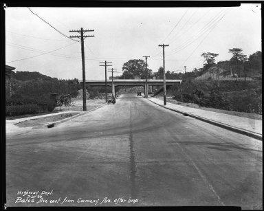 Street Improvement Photographs -- Box 32, Folder 04 (Bates Avenue) -- negative, 1930-07-21