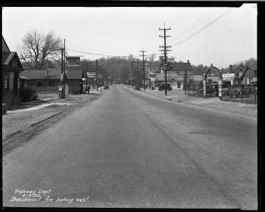 Street Improvement Photographs -- Box 32, Folder 09 (Beechmont Avenue) -- negative, 1930-04-03