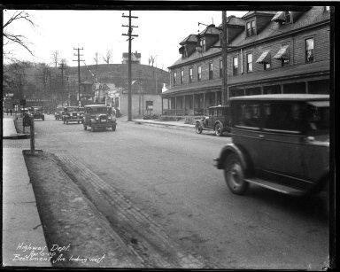 Street Improvement Photographs -- Box 32, Folder 09 (Beechmont Avenue) -- negative, 1930-04-05